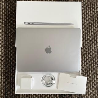 マック(Mac (Apple))の超美品 M1 MacBook Air スペースグレイ JISキーボード(ノートPC)