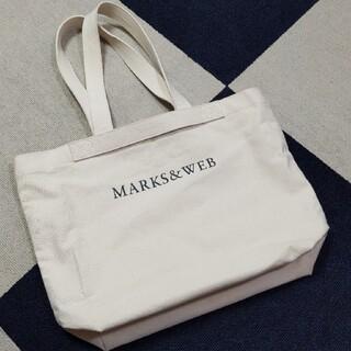 マークスアンドウェブ(MARKS&WEB)のマークスアンドウェブ コットンキャンバストートバッグL(トートバッグ)