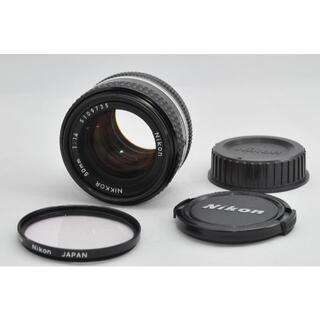 ニコン(Nikon)の美品 Nikon Ai-s Nikkor 50mm F1.4 #A032(レンズ(単焦点))