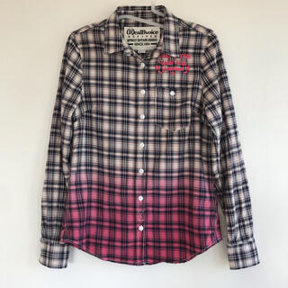 リアルビーボイス チェックシャツ M