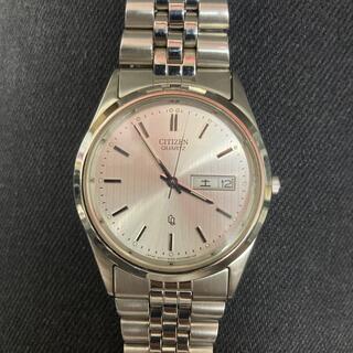 シチズン(CITIZEN)のシチズン クォーツ メンズ 電池交換済(腕時計(アナログ))