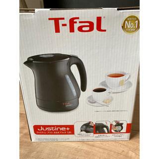 T-fal - 【新品未使用】ティファール 電気ケトル 1.2L ブラック
