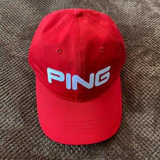 ピン(PING)のPING  ピン ジュニア 帽子(その他)