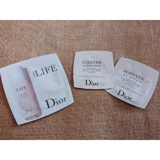 ディオール(Dior)のDior スキンケア サンプル詰め合わせ(サンプル/トライアルキット)