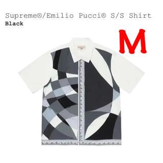 Supreme - Supreme Emilio Pucci S/S Shirt Black 黒 白