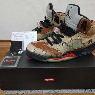 Supreme - Supreme Nike Air Jordan 5 Camo キムタク愛用