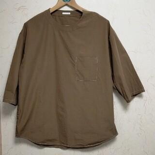 ジーユー(GU)のGU茶色シャツ(シャツ)