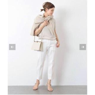 DEUXIEME CLASSE - Deuxieme Classe Cropped パンツ 36 ホワイト