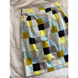 マリメッコ(marimekko)のmarimekko タイトスカート(ひざ丈スカート)