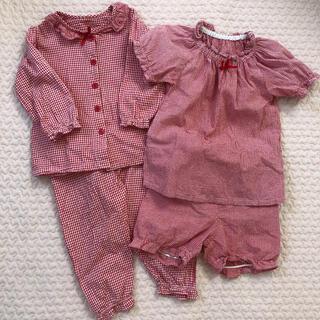 ニシマツヤ(西松屋)の西松屋 長袖&半袖パジャマ(パジャマ)