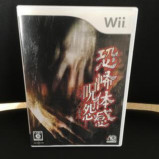 Wii - 恐怖体感 呪怨