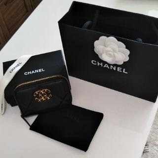シャネル(CHANEL)のCHANEL19ジップコインパース Black(コインケース)