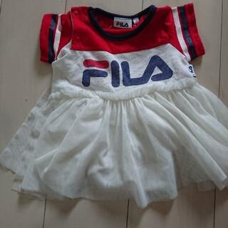 FILA - FILA/半袖ロンパース/80センチ