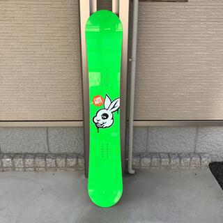 【10周年記念 限定ボード】UG. MADBUNNY スノーボード 板(ボード)