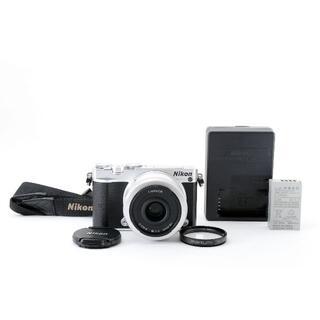 Nikon - Nikon 1 J5 ミラーレス一眼レフ シルバー 18.5mm レンズキット