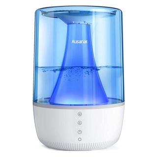 加湿器 3.5L 三段階霧量調整可能 静音 対応  360℃自由回転 LED