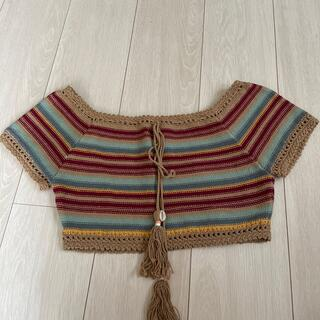 シャガデリック(SHAGADELIC)のshagadelic クロシェトップ(Tシャツ(半袖/袖なし))