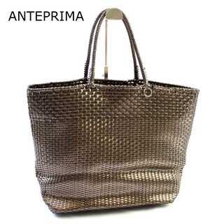 アンテプリマ(ANTEPRIMA)のアンテプリマ★イントレッチオ トートバッグ 鞄 黒系 A4 通勤 通学(トートバッグ)
