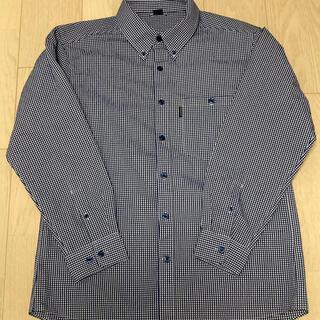 モンベル 長袖シャツ Lサイズ(登山用品)