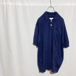 sacai - sacai サカイ ポケット付 半袖ニットポロシャツ メンズ 3