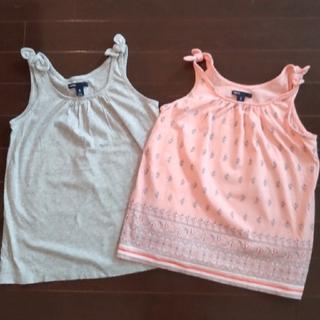 ギャップキッズ(GAP Kids)のキッズ女の子服 タンクトップ2枚 Gap(Tシャツ/カットソー)