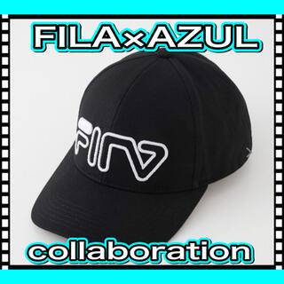 FILA - FILA×AZUL 6 PANEL CAP FILA AZUL パネル キャップ