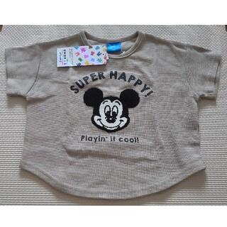 Disney - ミッキー 半袖Tシャツ 100 しまむら