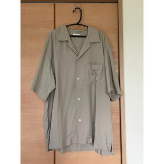 ジーユー(GU)のオープンカラーシャツ(シャツ)
