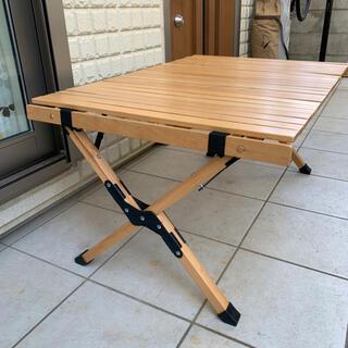 ハイランダー ロールトップテーブル2 収納ケース付き