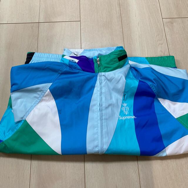 Supreme(シュプリーム)のSupreme Emilio Pucci Sport Jacket M メンズのジャケット/アウター(ナイロンジャケット)の商品写真