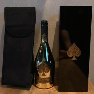 アルマンドバジ(Armand Basi)のアルマンド ゴールド 空瓶、カバー、ケース(シャンパン/スパークリングワイン)