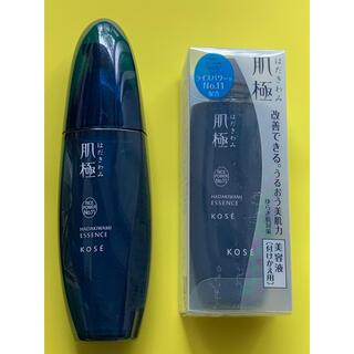 コーセー(KOSE)の肌極 美容液 本体と付けかえ用 はだきわみ(美容液)