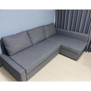 IKEA - IKEA3人掛け「ソファベット」