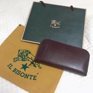 IL BISONTE - IL BISONTE ラウンドジップレザーウォレット