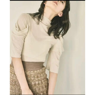 TODAYFUL - todayful☆sheer turtle tops 今季シアータートルトップス