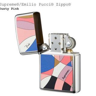 Supreme Emilio Pucci  zippo  シュプリーム ピンク