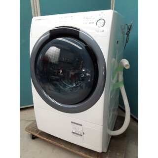 SHARP - 大人気 シャープドラム式洗濯乾燥機7.0kg マンションサイズ ES-S7C