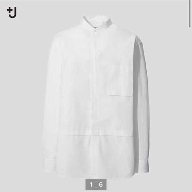 Jil Sander(ジルサンダー)の+J ユニクロ スーピマコットンオーバーシャツ  メンズのトップス(シャツ)の商品写真