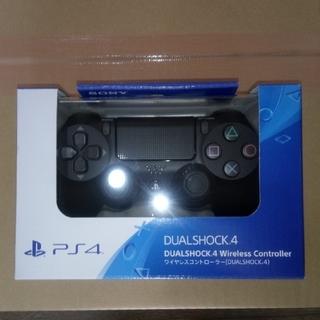 プレイステーション4(PlayStation4)のPS4 ワイヤレスコントローラー ジェットブラック 新品未開封(その他)