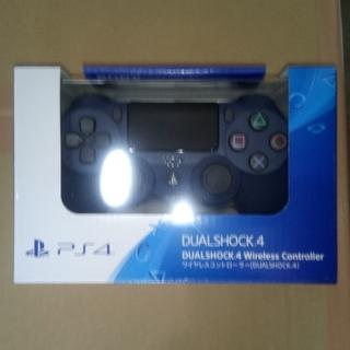 PlayStation4 - PS4 ワイヤレスコントローラー ミッドナイトブルー 新品未開封