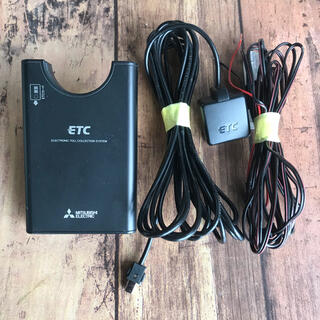 ミツビシデンキ(三菱電機)の軽登録!三菱電機分離型ETC車載器 EP-9U618V 音声あり(ETC)