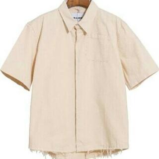 ◆JIL SANDER シャツの半袖    M