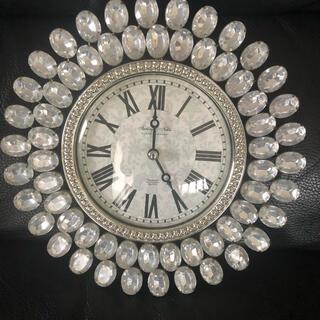 フランフラン(Francfranc)のキラキラ壁掛け時計(掛時計/柱時計)
