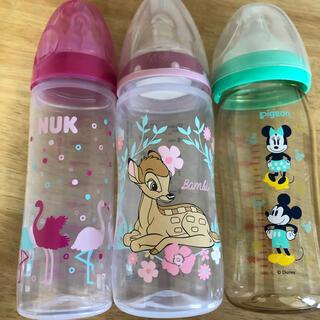 Pigeon - 哺乳瓶 3本セット 母乳実感 NUK