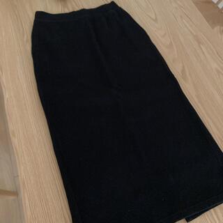ユニクロ(UNIQLO)のユニクロ リブロングスカート(ロングスカート)