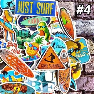 サーフィン ステッカー セット ハワイ カリフォルニア スケボー ストリート