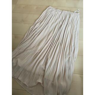 ユニクロ(UNIQLO)のユニクロプリーツスカート(ロングスカート)
