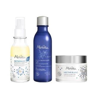 メルヴィータ(Melvita)のメルヴィータ ネクターブラン オイル、化粧水、クリーム3点セット(ブースター/導入液)