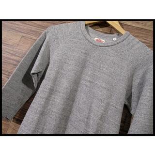 ハリウッドランチマーケット(HOLLYWOOD RANCH MARKET)のハリウッドランチマーケット ハリラン 7分袖 サーマル Tシャツ 杢グレー L(Tシャツ/カットソー(七分/長袖))