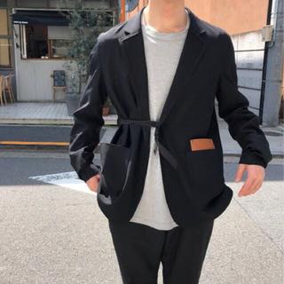 SUNSEA - sunsea SNM-BLUE jacket BLACK size 3